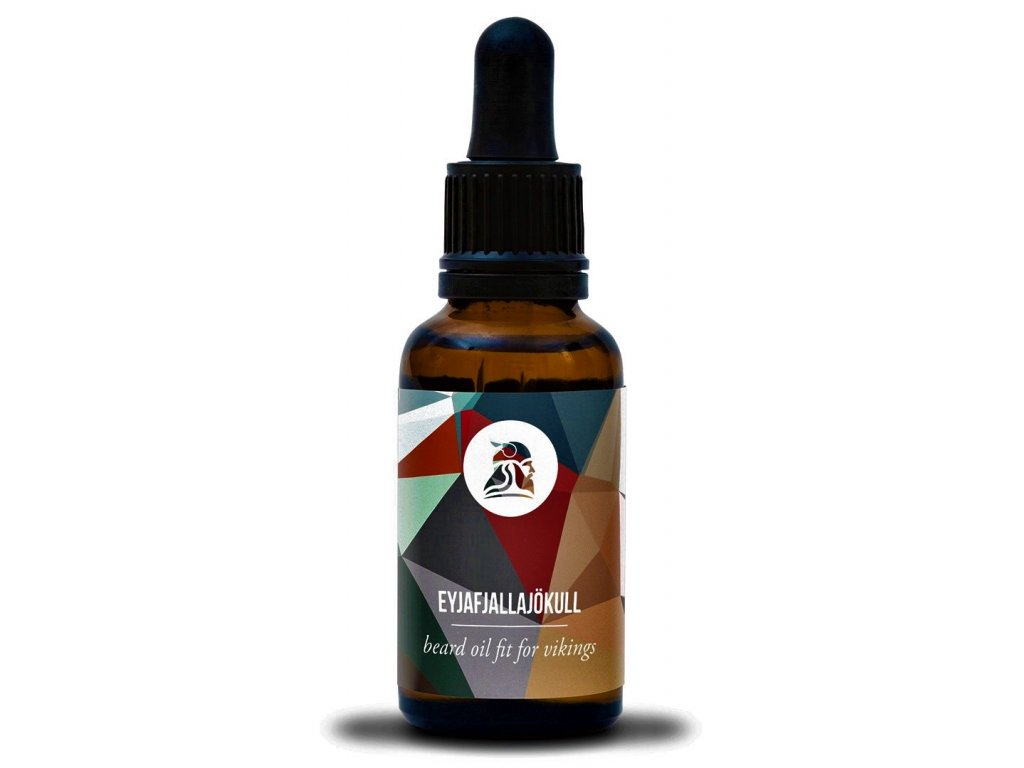 oil Eyjafjallajökull